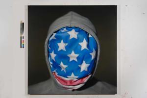 shelter03, Oil on canvas, 150 × 150cm, 2015