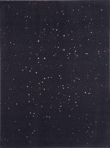 whitetears01, acrylic on canvas, 90 × 70, 2015
