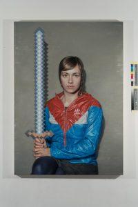 Sword 02, Oil on canvas, 140 × 100cm, 2018
