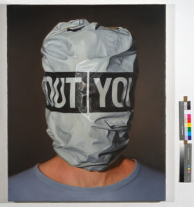 Ambush01, 2019, oil on canvas, 100 × 80cm